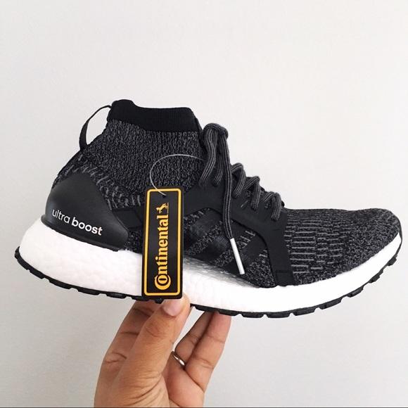 f4bf28fd6 Adidas UltraBOOST X All Terrain Carbon Core Black